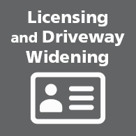 Licensing and Driveway Widening link image